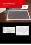 Lichtschachtabdeckungen Insektenschutz