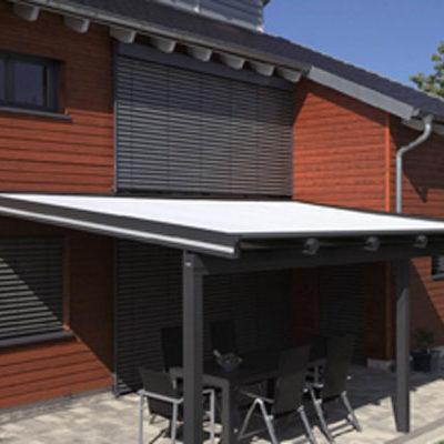 Terrassenüberdachung von Warema